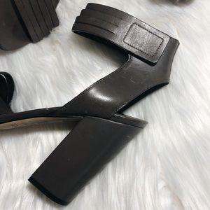 Vince Shoes - Vince Lara Huarache Gray Sandal Heels Size 10